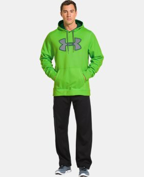 Men's UA Storm Armour® Fleece Big Logo Hoodie  1 Color $32.99