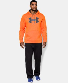 Men's UA Storm Armour® Fleece Big Logo Patterned Hoodie