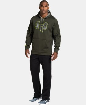 Men's UA Storm Armour® Fleece Gametime Big Logo Hoodie  2 Colors $32.99