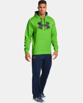 Men's UA Storm Armour® Fleece Gametime Big Logo Hoodie