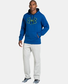 Men's UA Storm Armour® Fleece Gametime Big Logo Hoodie LIMITED TIME: FREE U.S. SHIPPING 1 Color $32.99 to $40.99