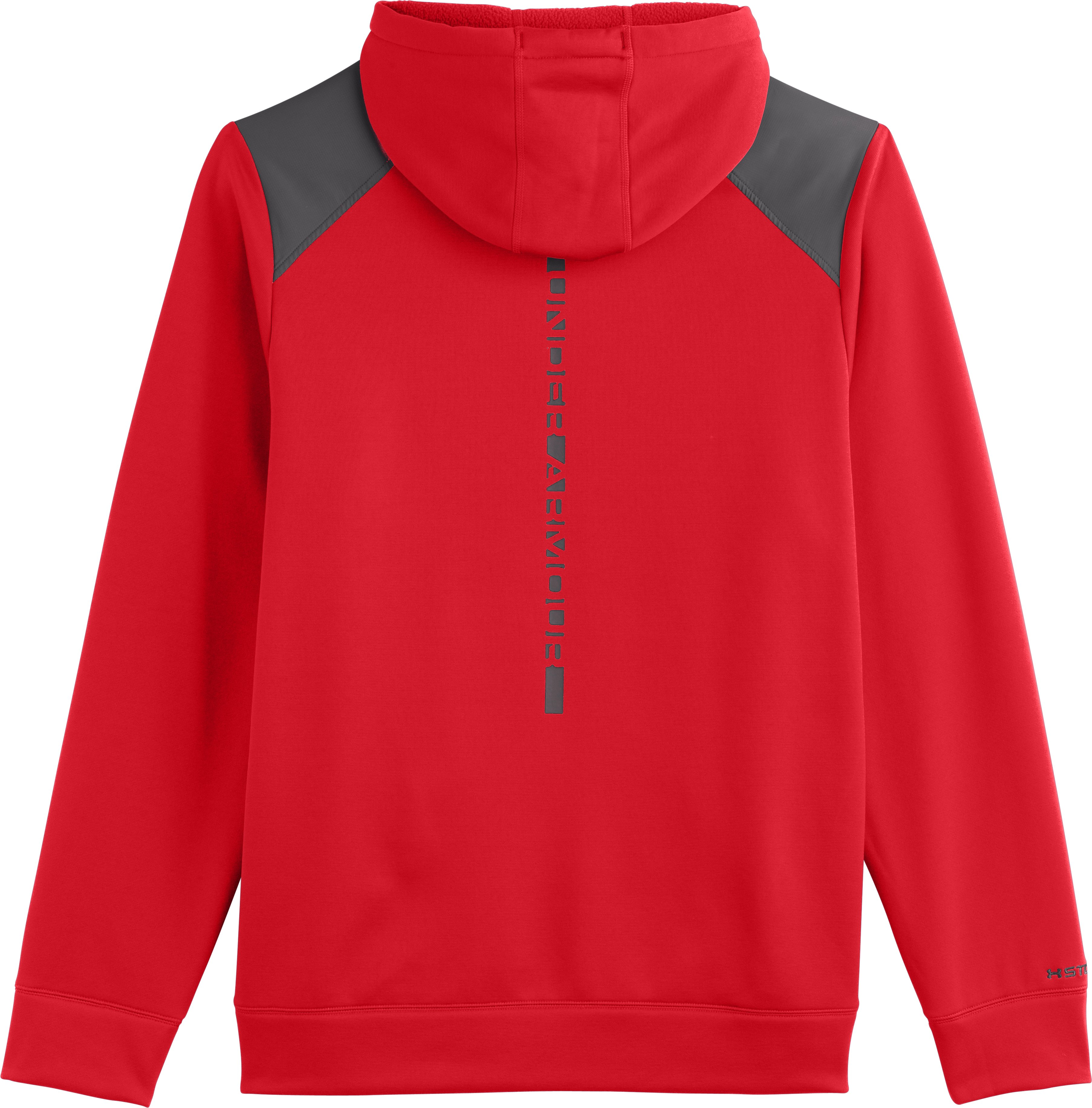 Men's UA Storm Armour® Fleece Marauder Hoodie, RISK RED
