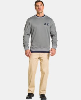 Men's Armour® Fleece Crew