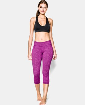 Women's UA Seamless Plunge Sports Bra   $20.99 to $26.99