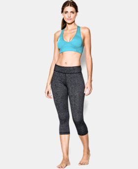 Women's UA Seamless Plunge Sports Bra