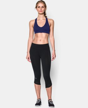 Women's UA Seamless Plunge Sports Bra   $34.99