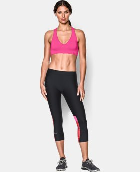 Women's UA Seamless Plunge Sports Bra  1 Color $20.99 to $26.99