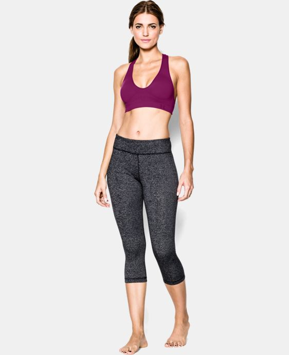Women's UA Seamless Plunge Sports Bra LIMITED TIME: FREE U.S. SHIPPING 8 Colors $20.24 to $26.99