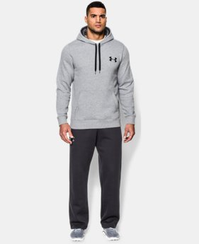 Men's UA Rival Fleece Hoodie  4 Colors $27.99 to $33.99