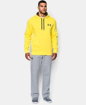 Men's UA Rival Fleece Hoodie  2 Colors $33.99