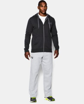 Men's UA Rival Fleece Zip Hoodie  2 Colors $48.99