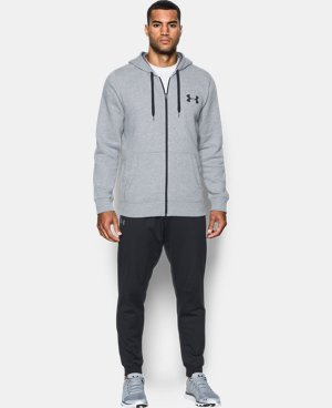 Men's UA Rival Fleece Zip Hoodie LIMITED TIME: FREE U.S. SHIPPING 2 Colors $54.99