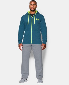 Men's UA Rival Fleece Zip Hoodie  2 Colors $41.99
