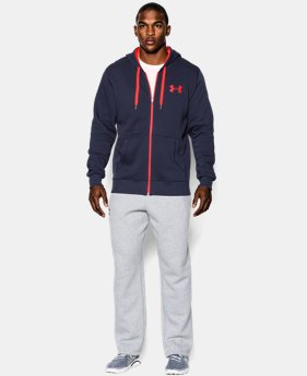 Men's UA Rival Fleece Zip Hoodie