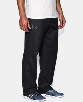 Best Seller Men's UA Rival Fleece Pants  1  Color Available $44.99