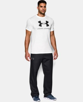 Men's UA Rival Fleece Pants EXTENDED SIZES 2 Colors $44.99