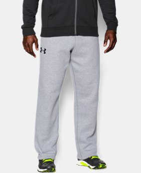 Best Seller Men's UA Rival Fleece Pants  4 Colors $44.99