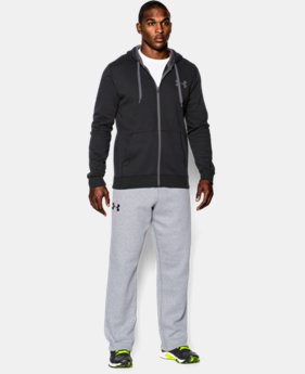 New Arrival  Men's UA Rival Fleece Pants   $54.99