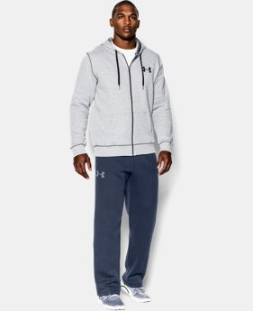 Men's UA Rival Fleece Pants EXTENDED SIZES 1 Color $33.99