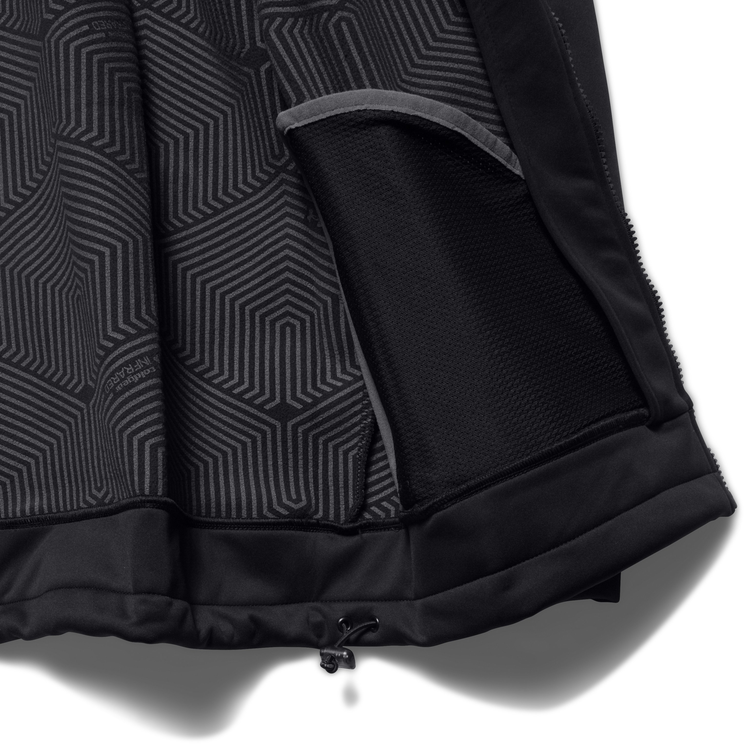 Men's UA Storm High Post Jacket, Black