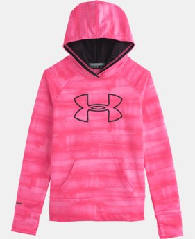Girls' UA Power In Pink® Armour® Fleece Big Logo Hoodie