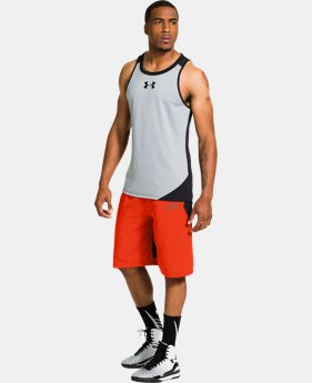 Men's UA Undeniable ArmourVent™ Crossover Basketball Shorts
