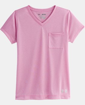 Girls' UA Pocket V-Neck