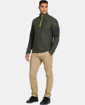 Men's UA TundraBloc ¼ Zip   $56.24