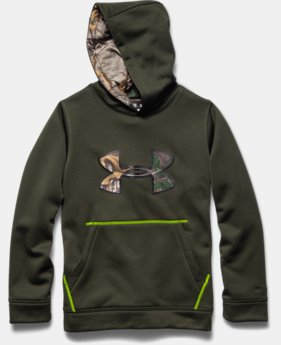 Boys' UA Storm Armour® Fleece Caliber Hoodie