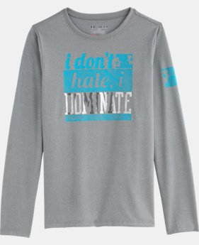 Girls' UA Tech™ Dominate Long Sleeve