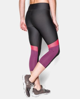 "Women's UA HeatGear® Armour 17"" Novelty Capri  1 Color $23.99 to $29.99"