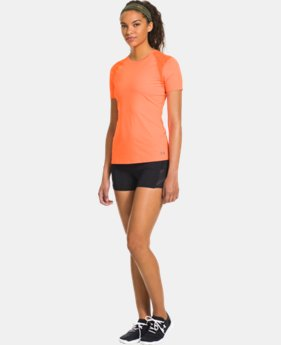 Women's UA HeatGear® ArmourVent™ Short Sleeve  1 Color $29.99