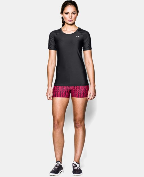 Women's UA HeatGear® Armour Short Sleeve  1 Color $22.99