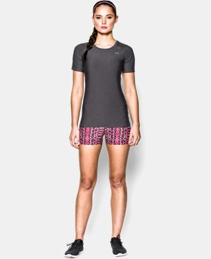 New Arrival  Women's UA HeatGear® Armour Short Sleeve LIMITED TIME: FREE SHIPPING 3 Colors $29.99
