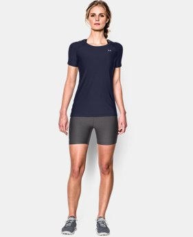 Women's UA HeatGear® Armour Short Sleeve LIMITED TIME: FREE SHIPPING 1 Color $29.99