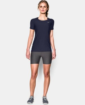 Women's UA HeatGear® Armour Short Sleeve LIMITED TIME: FREE U.S. SHIPPING 1 Color $24.99