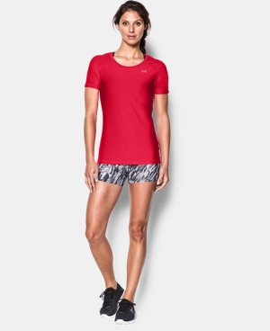 Women's UA HeatGear® Armour Short Sleeve  1 Color $29.99