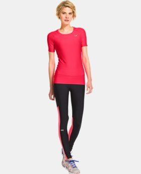 Women's UA HeatGear® Armour Short Sleeve  2 Colors $17.99 to $22.99