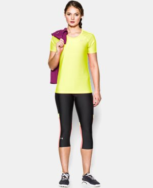 Women's UA HeatGear® Armour Short Sleeve LIMITED TIME: FREE U.S. SHIPPING 1 Color $14.99 to $18.99