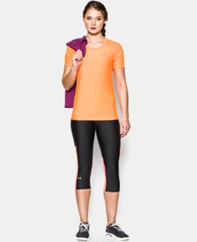 Women's UA HeatGear® Armour Short Sleeve LIMITED TIME: UP TO 30% OFF 1 Color $14.99 to $18.99