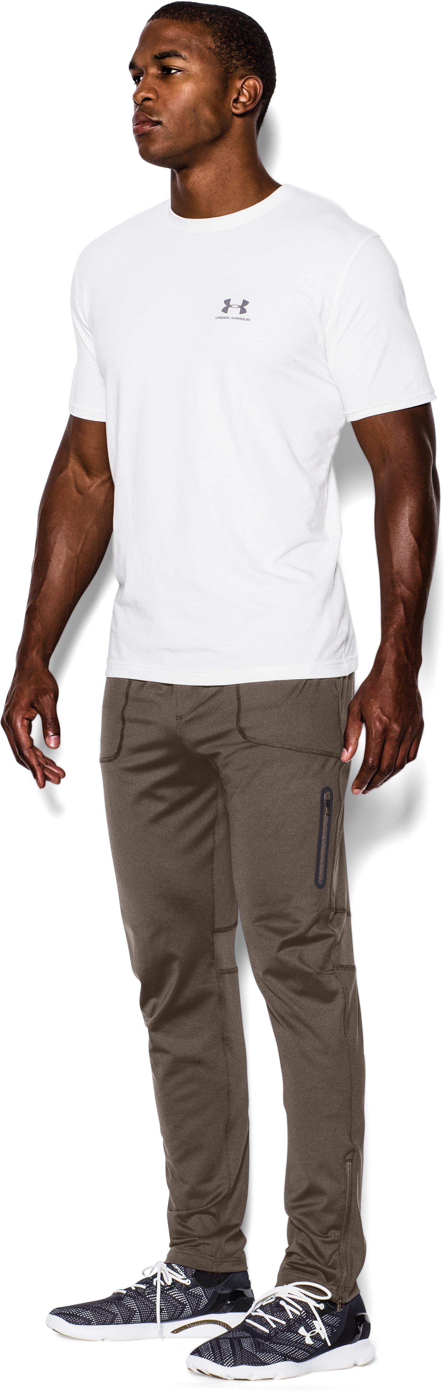 Men's UA Capital Knit Pants – Tapered Leg | Under Armour US