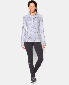 Women's UA ColdGear® Cozy Printed ½ Zip  1 Color $64.99