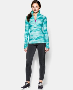 Women's UA ColdGear® Cozy Printed 1/2 Zip LIMITED TIME: FREE U.S. SHIPPING 1 Color $48.74