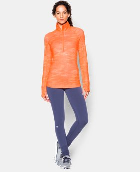 Women's UA ColdGear® Cozy Printed ½ Zip  1 Color $36.74