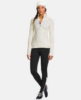 Women's ColdGear® Cozy Shimmer ½ Zip  1 Color $51.99