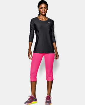 Women's UA HeatGear® Armour Long Sleeve  1 Color $34.99
