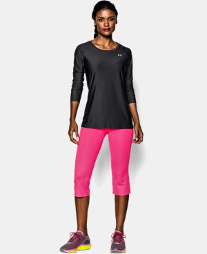 New Arrival  Women's UA HeatGear® Armour Long Sleeve  1 Color $34.99