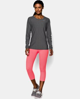 New Arrival  Women's UA HeatGear® Armour Long Sleeve LIMITED TIME: FREE SHIPPING  $34.99