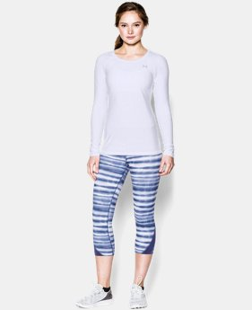 Women's UA HeatGear® Armour Long Sleeve  1 Color $12.74 to $17.24