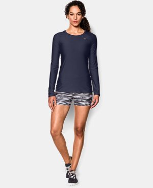 Women's UA HeatGear® Armour Long Sleeve  5 Colors $34.99